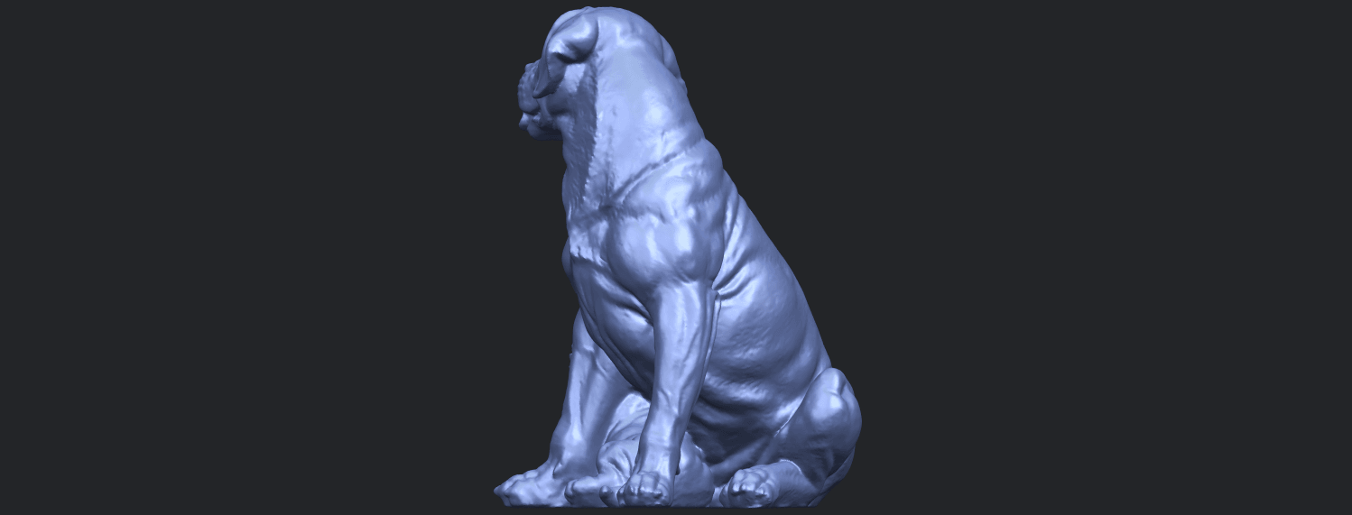 02_TDA0526_Dog_and_PuppyB07.png Download free STL file Dog and Puppy 01 • Model to 3D print, GeorgesNikkei