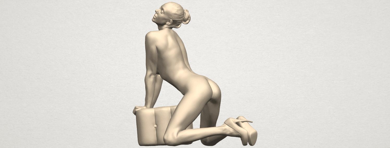 TDA0290 Naked Girl B07 01.png Télécharger fichier STL gratuit Fille Nue B07 • Objet pour imprimante 3D, GeorgesNikkei