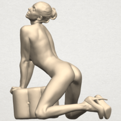 TDA0290 Naked Girl B07 01.png Download free STL file Naked Girl B07 • Template to 3D print, GeorgesNikkei