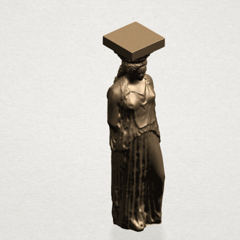 Pose with Girl A06.png Download free STL file Pose with Girl • 3D printable template, GeorgesNikkei