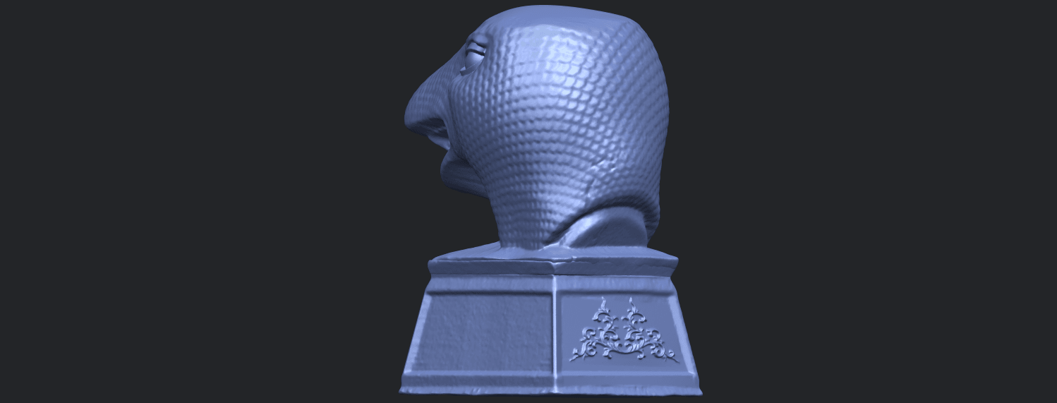 19_TDA0513_Chinese_Horoscope_of_Snake.02B05.png Download free STL file Chinese Horoscope of Snake 02 • 3D printer design, GeorgesNikkei