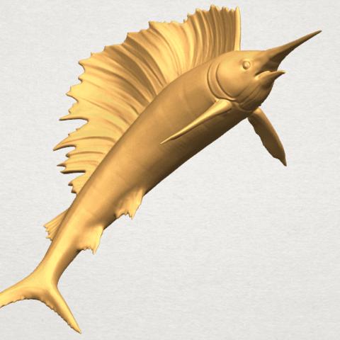 TDA0572 Swordfish 02 A02.png Télécharger fichier STL gratuit Espadon 02 • Objet pour impression 3D, GeorgesNikkei