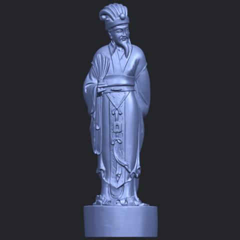 19_TDA0342_Zhu_Ge_Liang_Kong_MingB01.png Télécharger fichier STL gratuit Zhu Ge Liang Kong Ming Kong Ming • Modèle imprimable en 3D, GeorgesNikkei