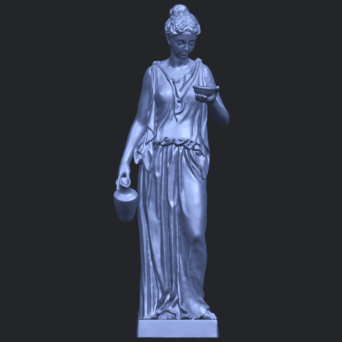 11_TDA0251_Beautiful_Girl_03_STLB01.png Download free STL file Beautiful Girl 03 • 3D print template, GeorgesNikkei