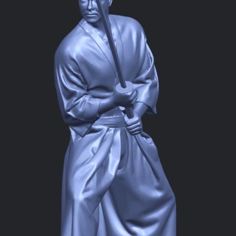 05_TDA0544_Japanese_WarriorA10.png Download free STL file Japanese Warrior • 3D printer model, GeorgesNikkei
