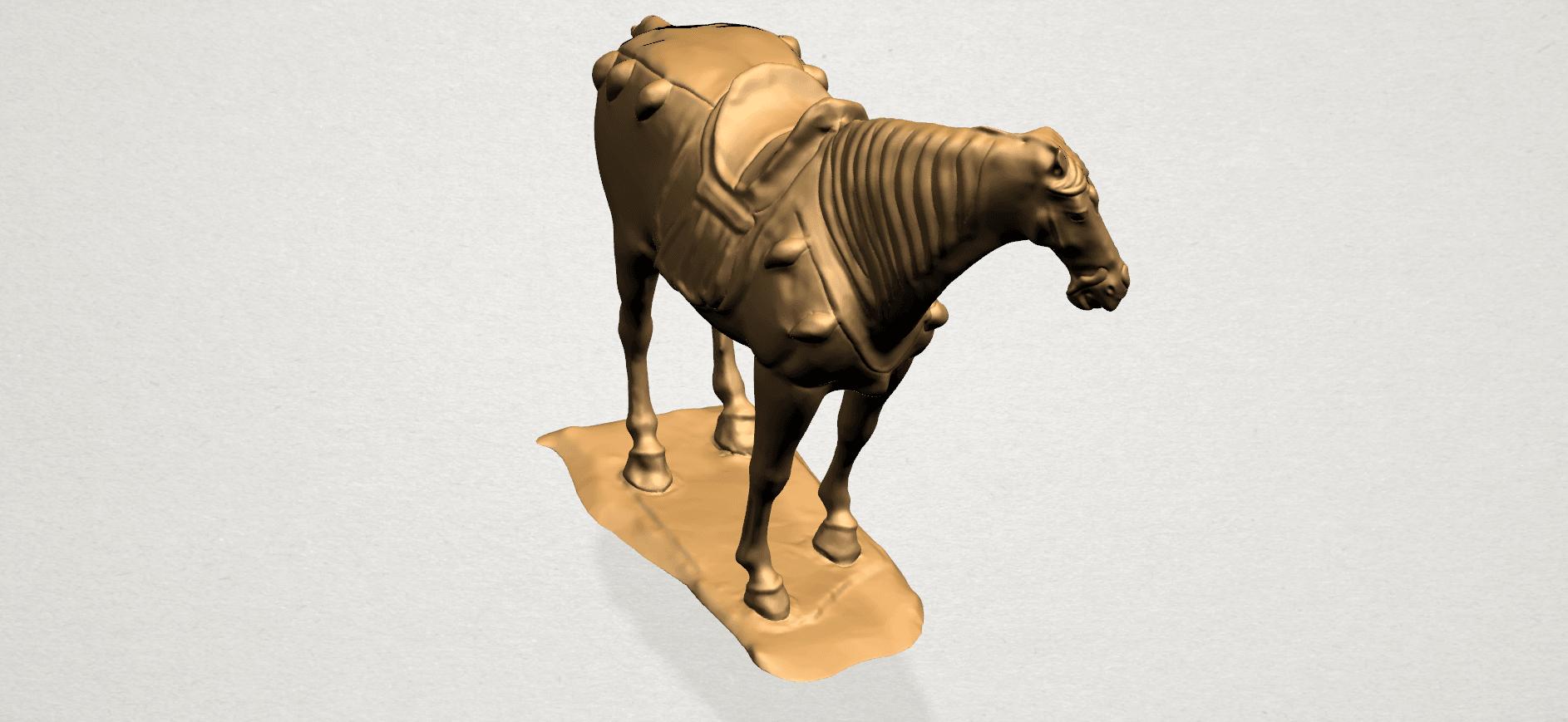 Horse (iv) B02.png Download free STL file Horse 04 • 3D print design, GeorgesNikkei