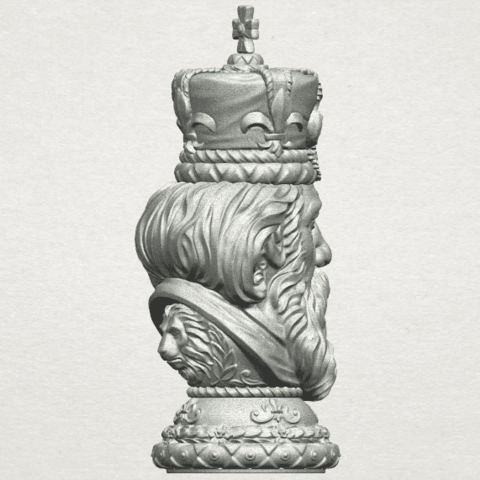 TDA0254 Chess-The King A08.png Download free STL file Chess-The King • 3D printer model, GeorgesNikkei