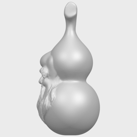11_TDA0335_Bottle_Gourd_01A04.png Download free STL file Bottle Gourd 01 • 3D printing template, GeorgesNikkei