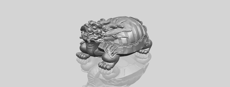 01_TDA0333_Dragon_TortoiseA00-1.png Télécharger fichier STL gratuit Tortue dragon • Objet imprimable en 3D, GeorgesNikkei