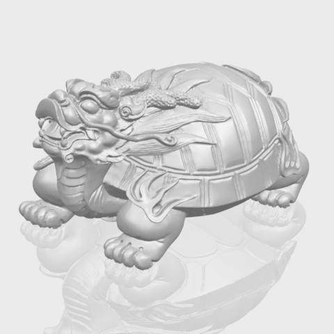 01_TDA0333_Dragon_TortoiseA00-1.png Download free STL file Dragon  Tortoise • Model to 3D print, GeorgesNikkei