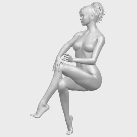 20_TDA0664_Naked_Girl_H02A06.png Download free STL file Naked Girl H02 • 3D print object, GeorgesNikkei
