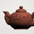 Download free 3D printing models Tea Pot 01, GeorgesNikkei
