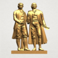 Download free 3D print files Goethe Schiller , GeorgesNikkei