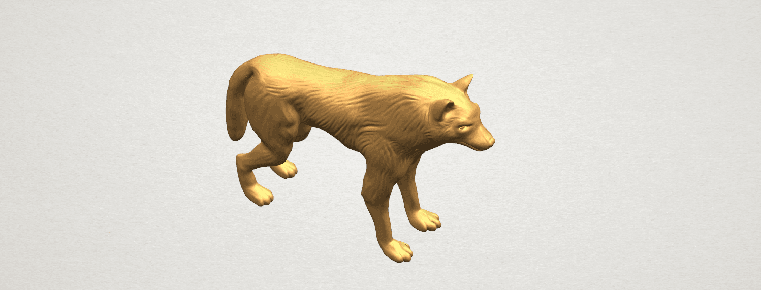 TDA0610 Wolf A07.png Download free STL file Wolf • 3D printable design, GeorgesNikkei