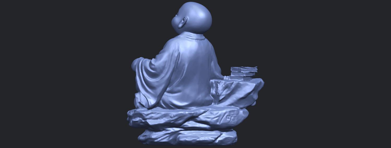 17_TDA0558_Little_Monk_Drink_TeaB06.png Télécharger fichier STL gratuit Boire du thé Little Monk Drink Tea • Design à imprimer en 3D, GeorgesNikkei