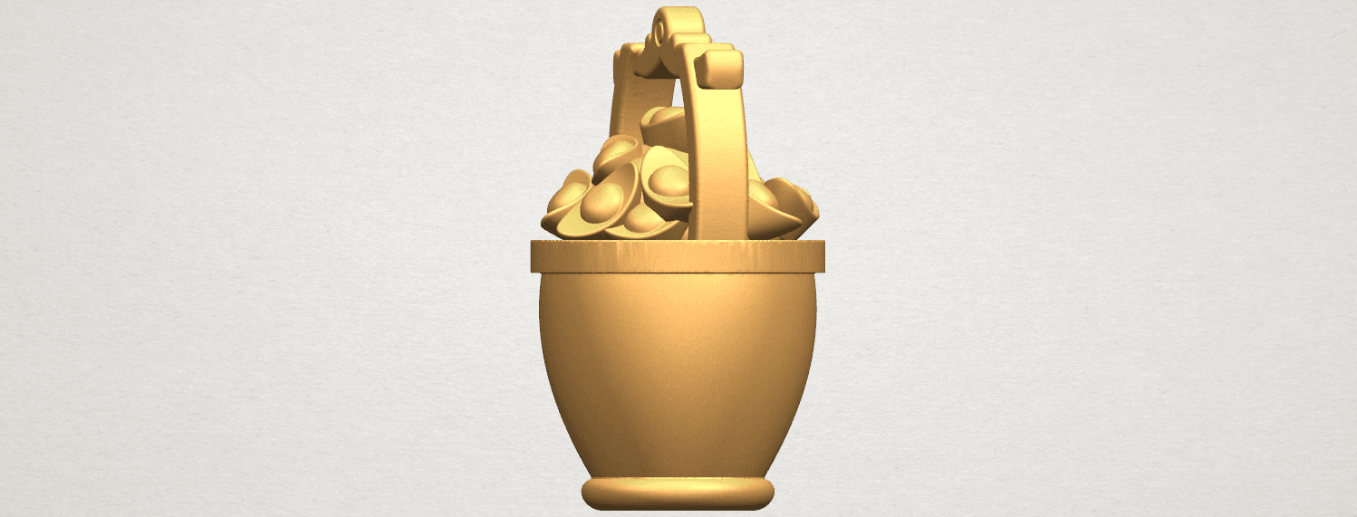 TDA0502 Gold in Bucket A03.png Download free STL file Gold in Bucket • 3D print object, GeorgesNikkei