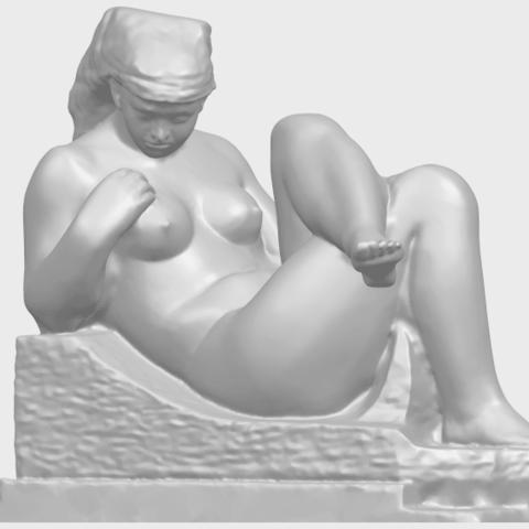 20_TDA0170_Naked_Girl_(xiii)_88mmA02.png Download free STL file Naked Girl 13 • 3D print design, GeorgesNikkei