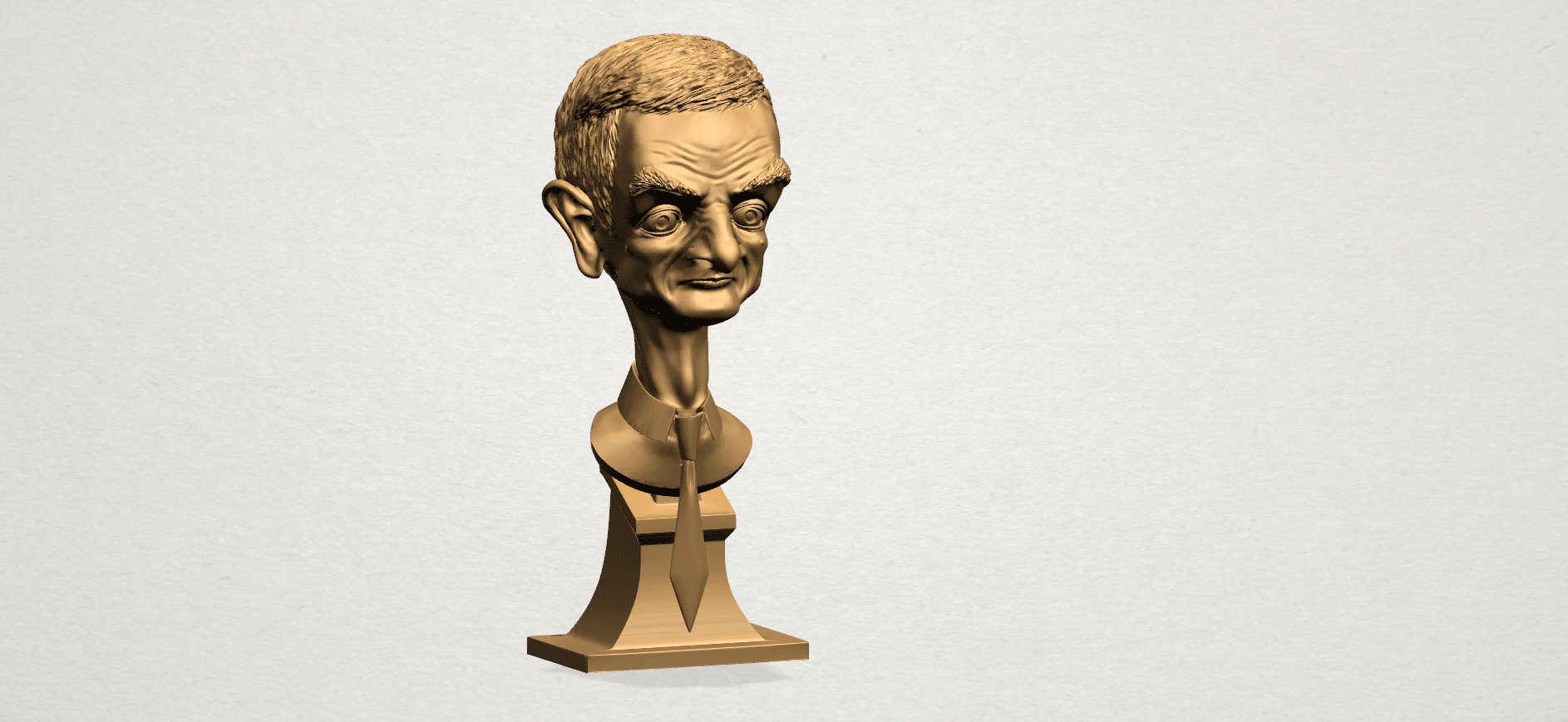 Sculpture of a man - B01.png Download free STL file Sculpture of a man 01 • 3D printable object, GeorgesNikkei