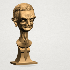 Free 3D printer model Sculpture of a man 01, GeorgesNikkei