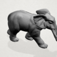 Elephant 01 -A04.png Download free STL file Elephant 01 • 3D printer design, GeorgesNikkei