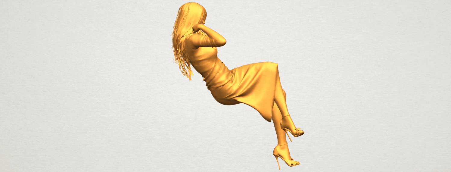 A08.png Download free STL file Naked Girl I01 • 3D print object, GeorgesNikkei