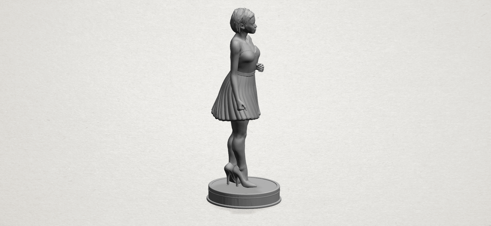 Standing girl- A04.png Download free STL file Standing girl • 3D printer design, GeorgesNikkei