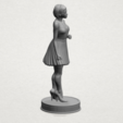 Download free 3D printing files Standing girl, GeorgesNikkei