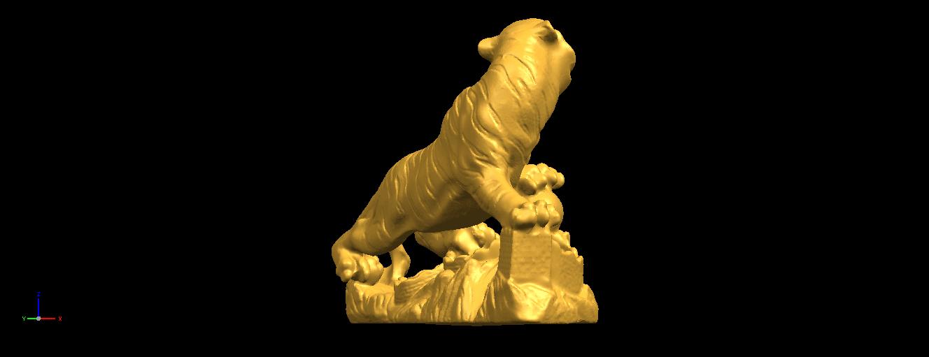 10.png Télécharger fichier STL gratuit Tigre de Sibérie • Objet imprimable en 3D, GeorgesNikkei
