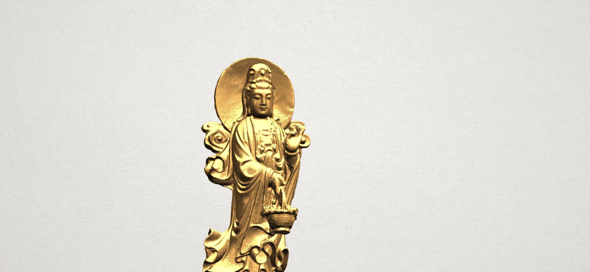 Avalokitesvara Buddha  (with fish) (ii) A08.png Download free STL file Avalokitesvara Bodhisattva (with fish) 02 • 3D printer template, GeorgesNikkei