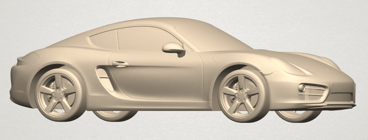TDA0304 Porche 01 Length438mm A05.png Download free STL file Porche 01 • 3D printable object, GeorgesNikkei