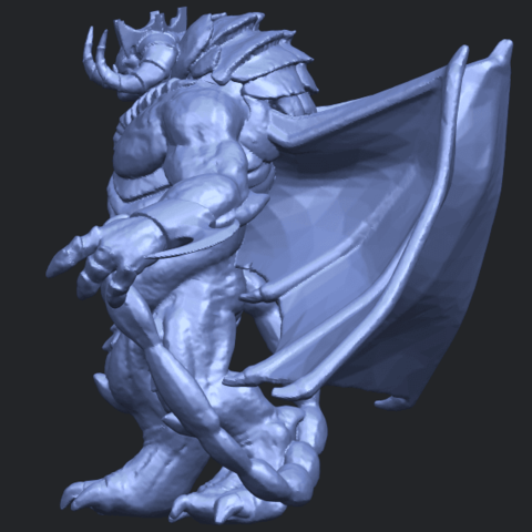 18_TDA0217_Monster_iB04.png Download free STL file Monster 01 • 3D printable template, GeorgesNikkei