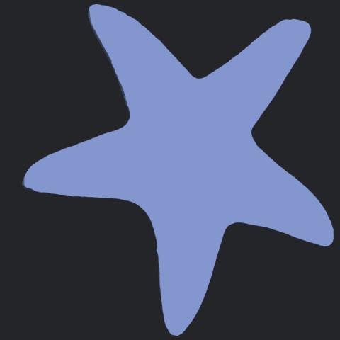 14_TDA0607_Starfish_01B06.png Télécharger fichier STL gratuit Étoile de mer 01 • Design à imprimer en 3D, GeorgesNikkei