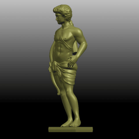 02.png Download free STL file Michelangelo 02 • Template to 3D print, GeorgesNikkei