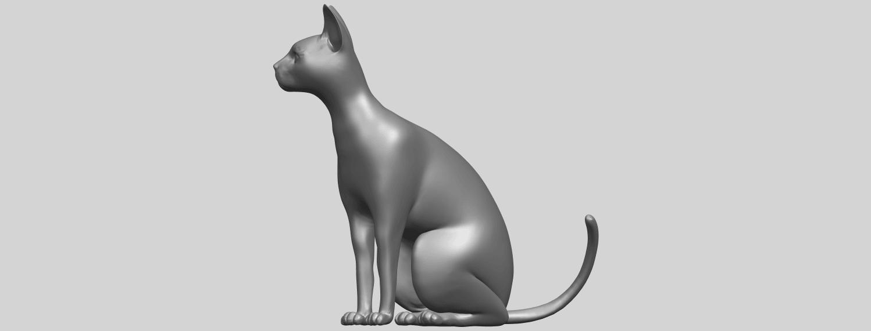 02_TDA0576_Cat_01A03.png Télécharger fichier STL gratuit Chat 01 • Modèle pour imprimante 3D, GeorgesNikkei