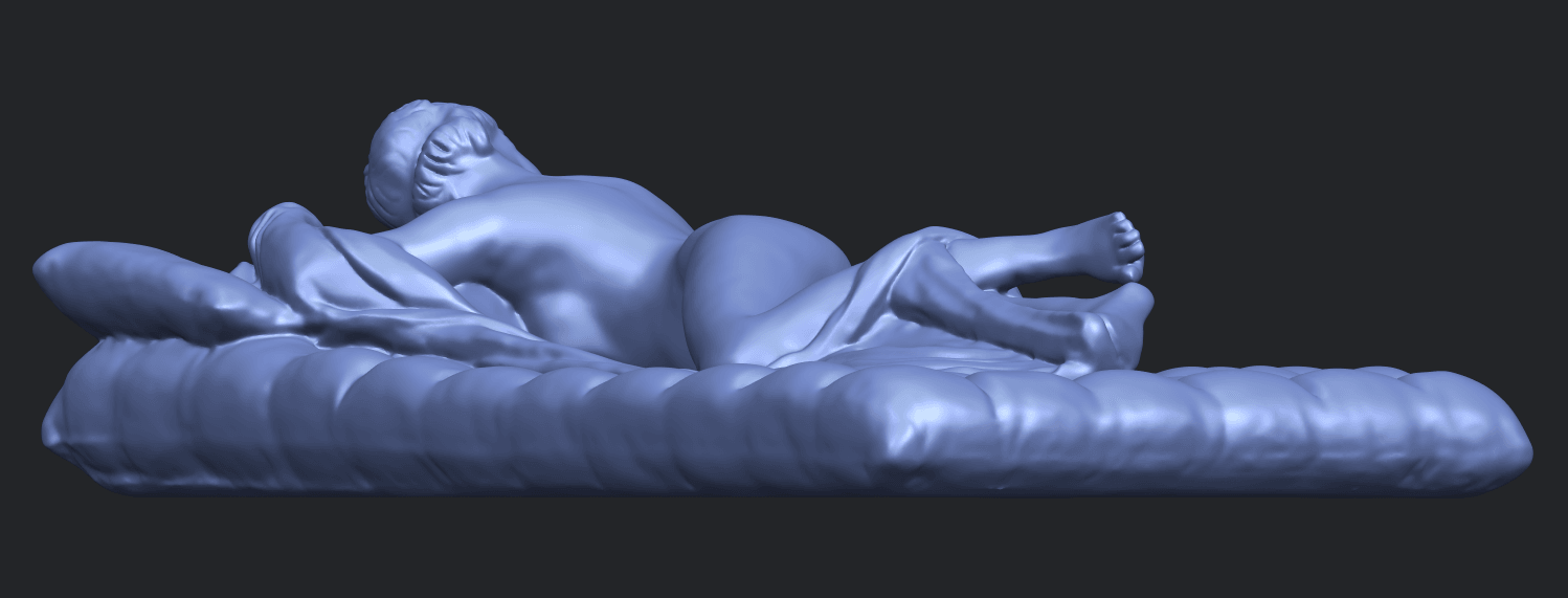 01_Naked_Body_Lying_on_Bed_ii_31mmB08.png Download free STL file Naked Girl - Lying on Bed 02 • Object to 3D print, GeorgesNikkei