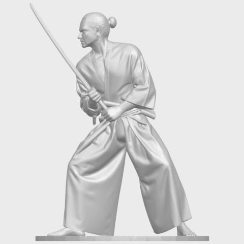 05_TDA0544_Japanese_WarriorA02.png Download free STL file Japanese Warrior • 3D printer model, GeorgesNikkei