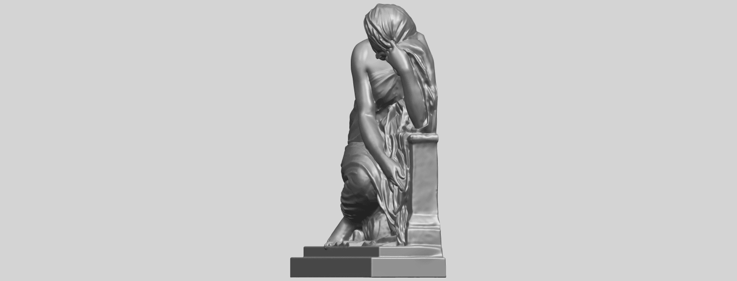 06_TDA0548_Sculpture_of_a_girl_02A03.png Download free STL file Sculpture of a girl 02 • 3D printable template, GeorgesNikkei