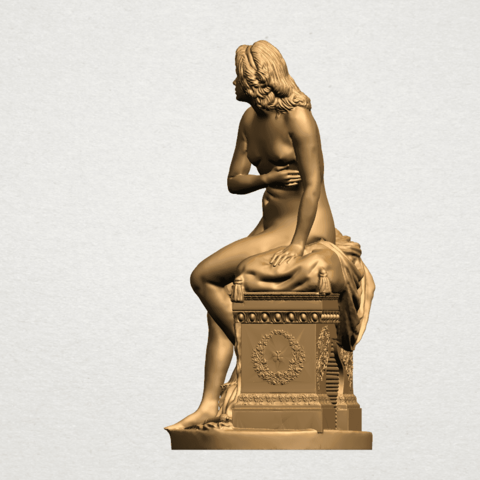 Naked Girl (i) B03.png Download free STL file Naked Girl 01 • 3D printing model, GeorgesNikkei
