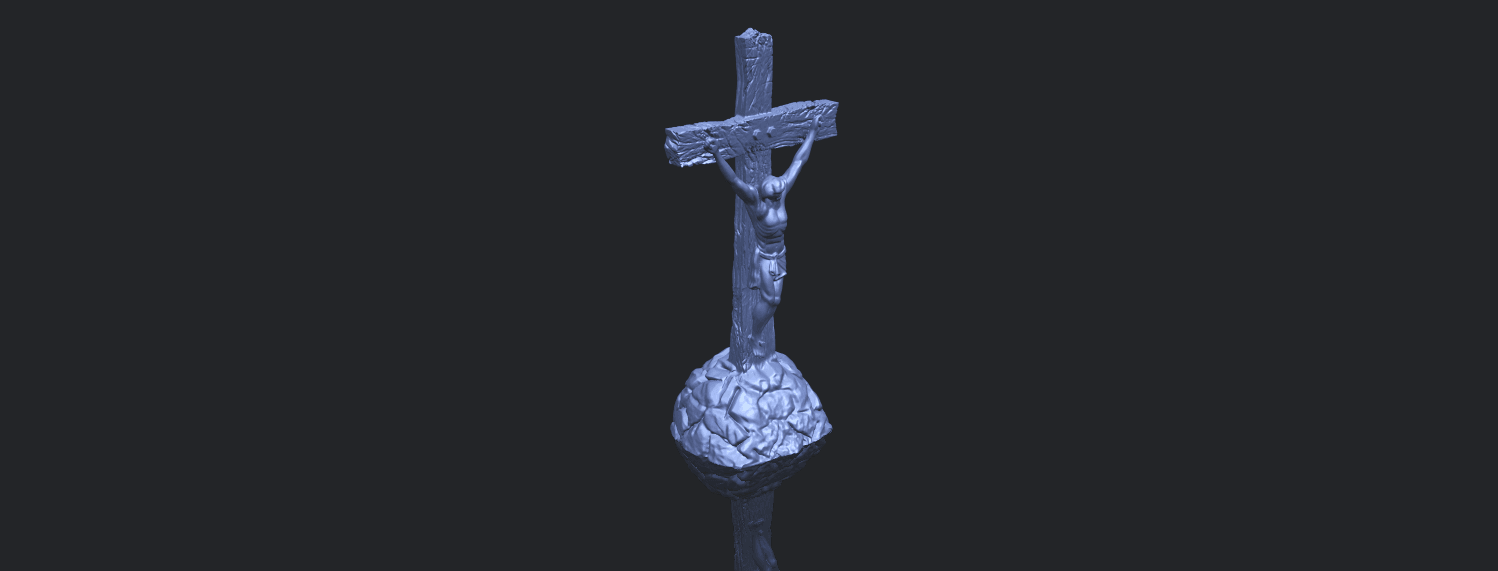 12_TDA0229_Jesus_with_cross_ii_88mmB00-1.png Download free STL file Jesus with cross 02 • Template to 3D print, GeorgesNikkei