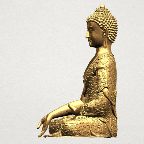 Thai Buddha(i) A03.png Download free STL file Thai Buddha (i) • Model to 3D print, GeorgesNikkei