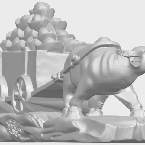 17_TDA0315_Golden_CarA08.png Download free STL file Golden Car • 3D printer template, GeorgesNikkei