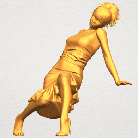A02.png Download free STL file Naked Girl G05 • 3D printing object, GeorgesNikkei