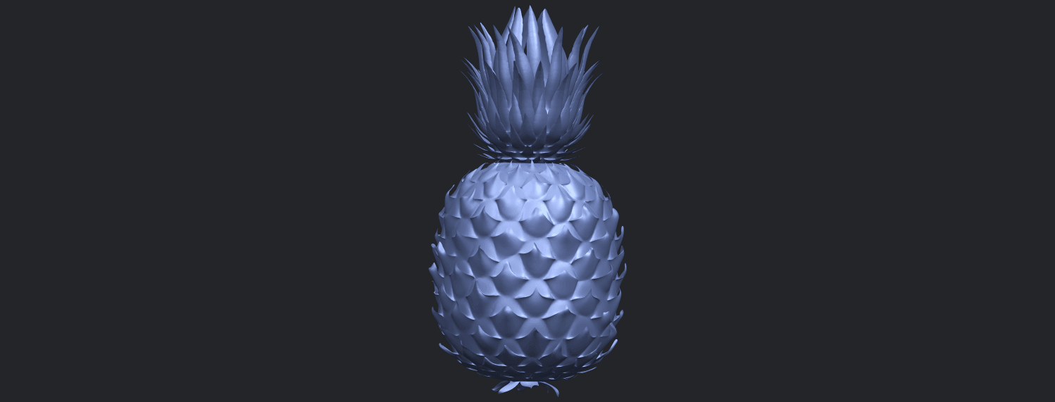 15_TDA0552_PineappleB09.png Download free STL file Pineapple • 3D printer design, GeorgesNikkei