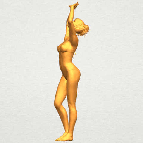 TDA0627 Naked Girl C03 A04.png Download free STL file Naked Girl C03 • 3D printer template, GeorgesNikkei