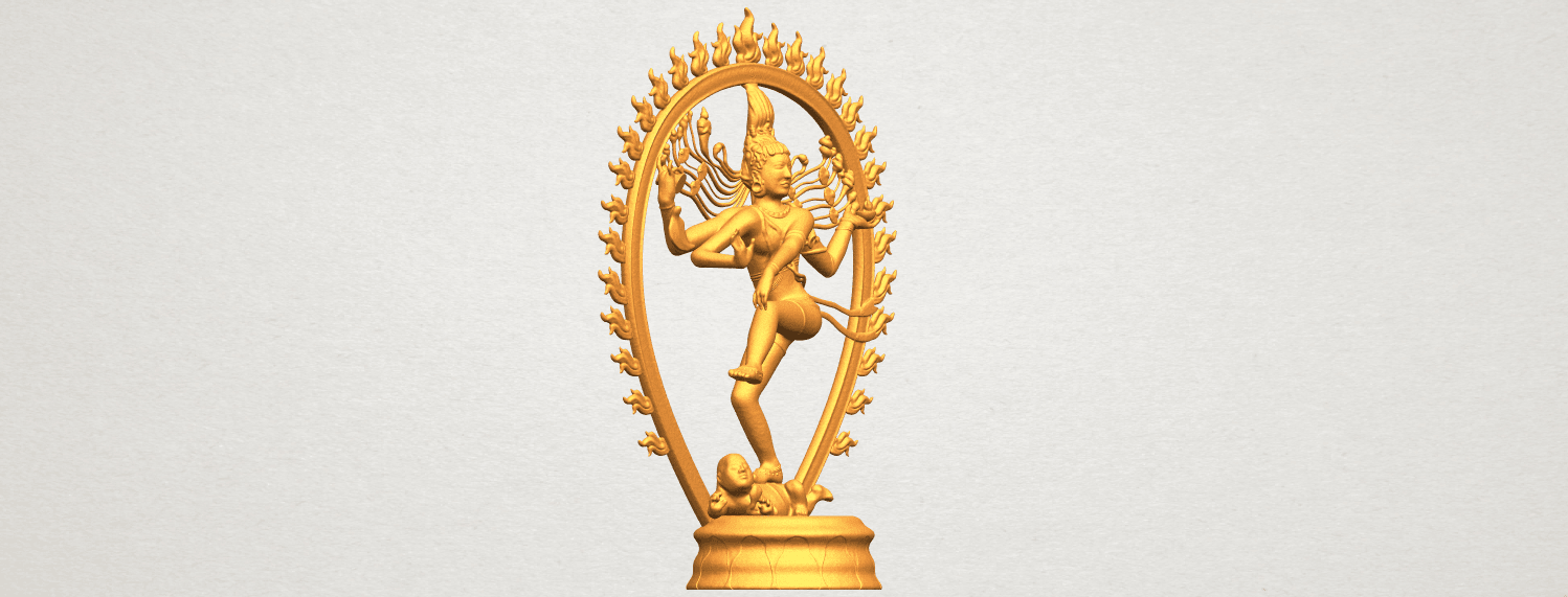 A10.png Download free STL file Shiva King • 3D printing template, GeorgesNikkei