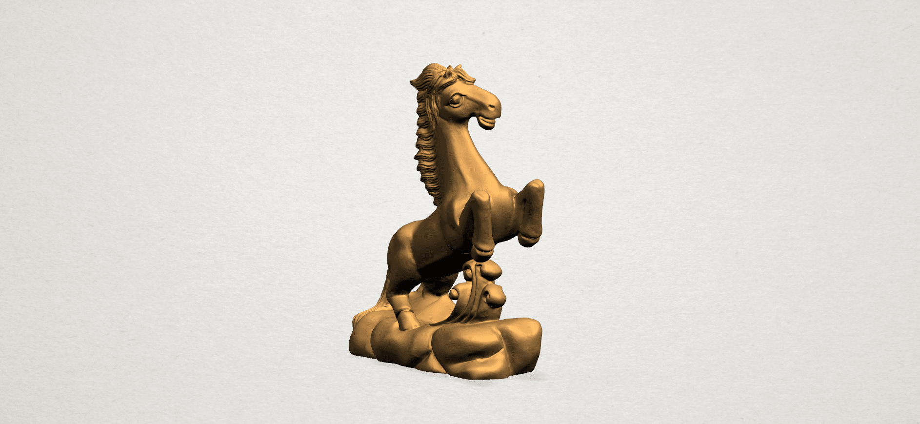 Chinese Horoscope07-A02.png Download free STL file Chinese Horoscope 07 Horse • 3D printer model, GeorgesNikkei