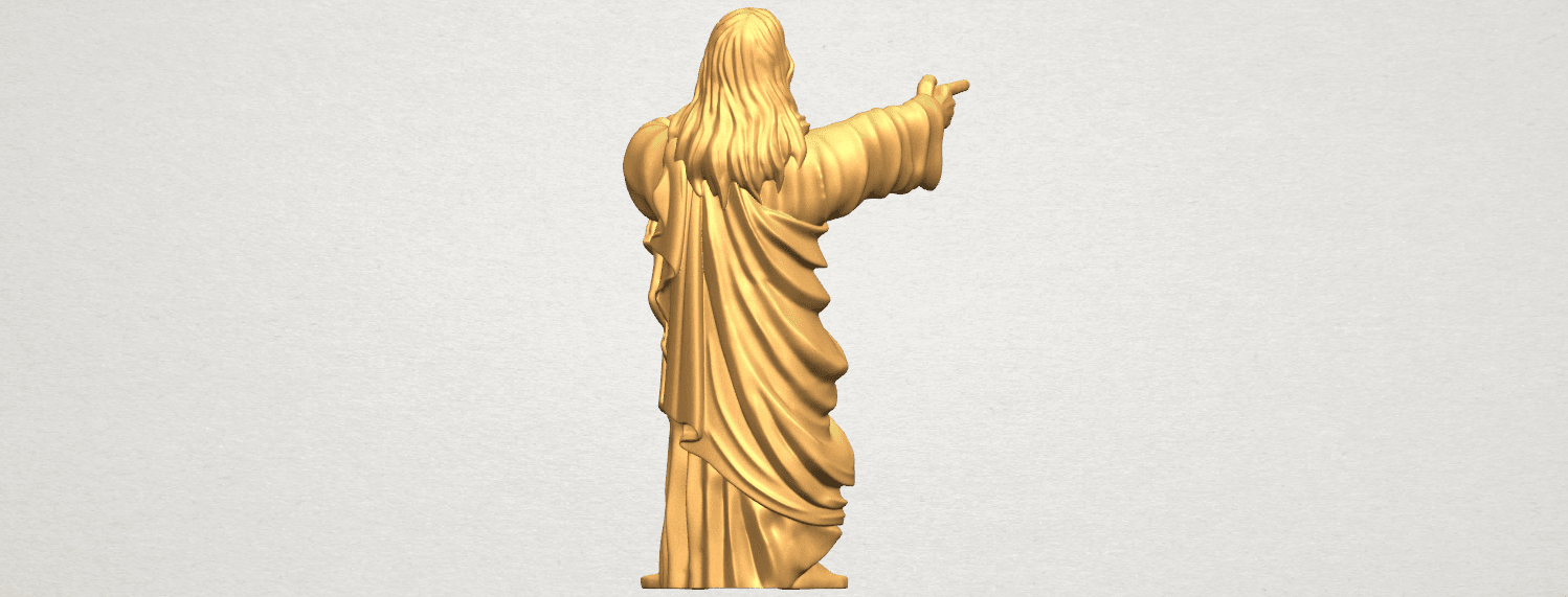 TDA0485 Jesus - Funny A05.png Download free STL file  Jesus - Funny • 3D printer template, GeorgesNikkei