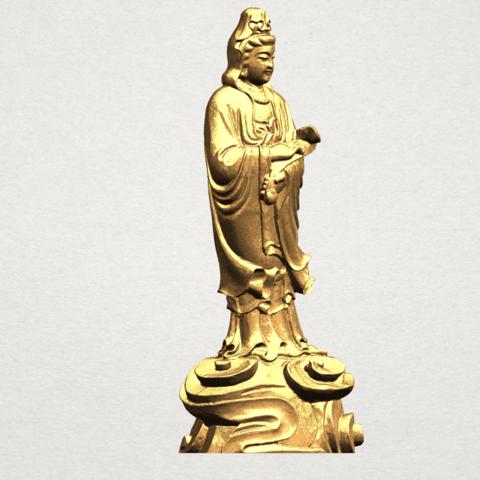 Avalokitesvara Buddha - Standing (iv) A08.png Download free STL file Avalokitesvara Buddha - Standing 04 • 3D print template, GeorgesNikkei