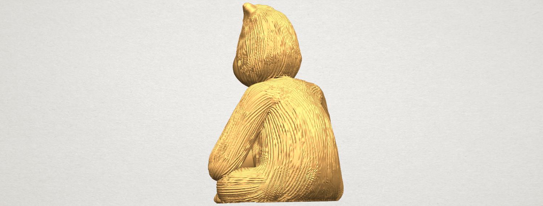 TDA0606 Chimpanzee A04.png Télécharger fichier STL gratuit Chimpanzé • Design imprimable en 3D, GeorgesNikkei