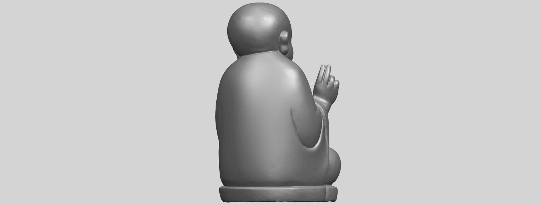 TDA0732_Little_Monk_05A07.png Télécharger fichier STL gratuit Petit Moine 05 • Modèle à imprimer en 3D, GeorgesNikkei
